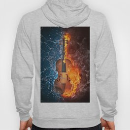 Fire and Water 009 Hoody