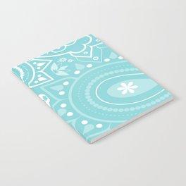 Paisley Blue Notebook