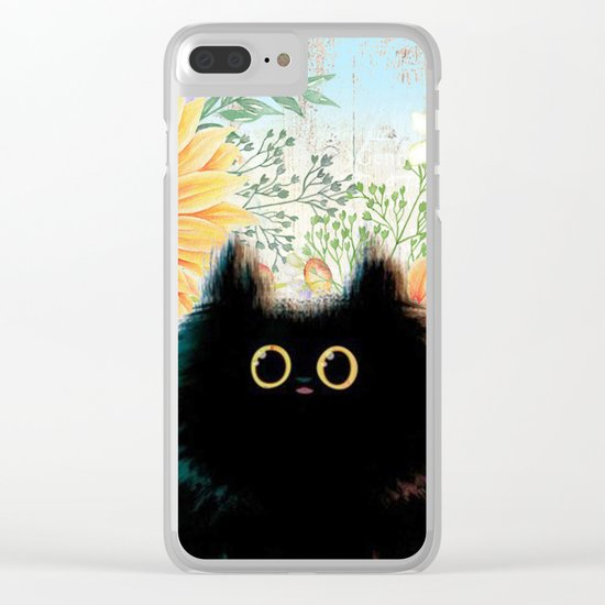 Sweet animal #6 Clear iPhone Case