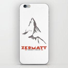 Zermatt, Valais, Switzerland iPhone Skin