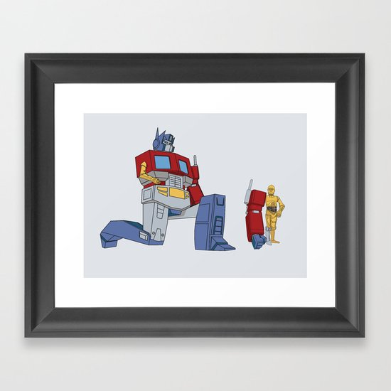 Not the Parts they were looking for... Framed Art Print