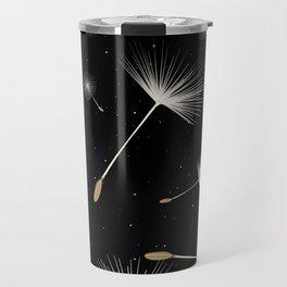 Celestial Dandelions Travel Mug