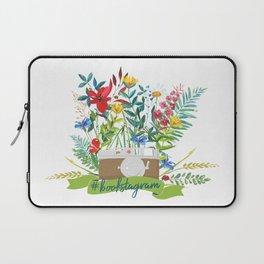 #bookstagram In Bloom Laptop Sleeve