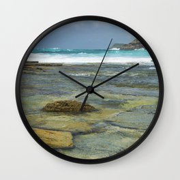 Mooney Rocks Wall Clock
