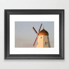 Old Windmill Framed Art Print