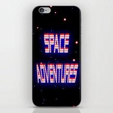 Space Adventures Arcade banner iPhone & iPod Skin