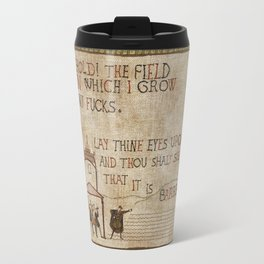 Behold the field Travel Mug