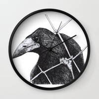 crown Wall Clocks featuring Crown by SINPE