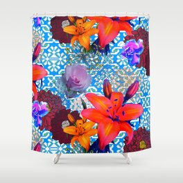 old flowers Shower Curtain
