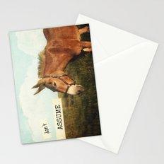 ASS*U*ME Stationery Cards