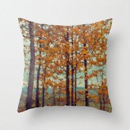Autumn Atmosphere Throw Pillow