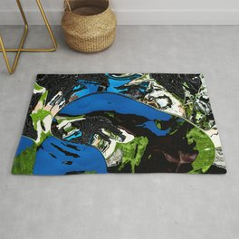Floating pieces Rug