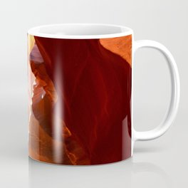 A Canyon Sculptured By Water Coffee Mug