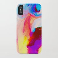 bat iPhone & iPod Cases featuring Bat by Kimsey Price