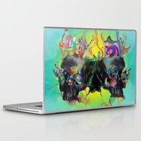 archan nair Laptop & iPad Skins featuring Mixed Signals by Archan Nair
