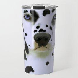 Dalmatian Art Travel Mug