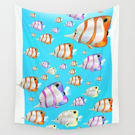 Tropical Fish Wall Tapestry