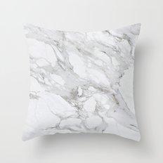 Calacatta Marble Throw Pillow