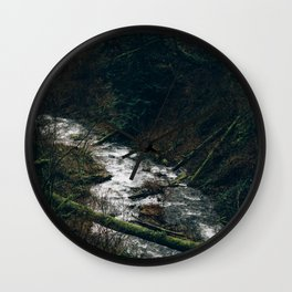 Latourell Creek Wall Clock