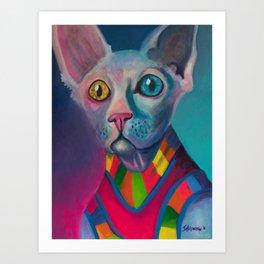 Kool Kat Art Print