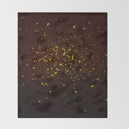 gold dust Throw Blanket