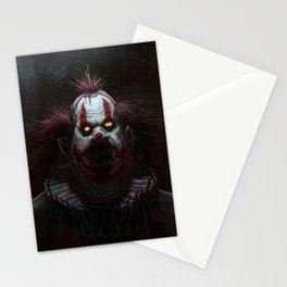 Killer Clown Stationery Cards