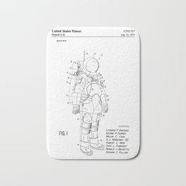 NASA Space Suit Patent Bath Mat