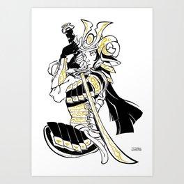 Inktober : Sword Art Print