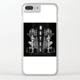 Two Stars Motel Clear iPhone Case