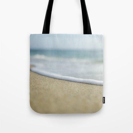 Sea Foam Beach Tote Bag