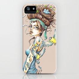 Birdbrain iPhone Case