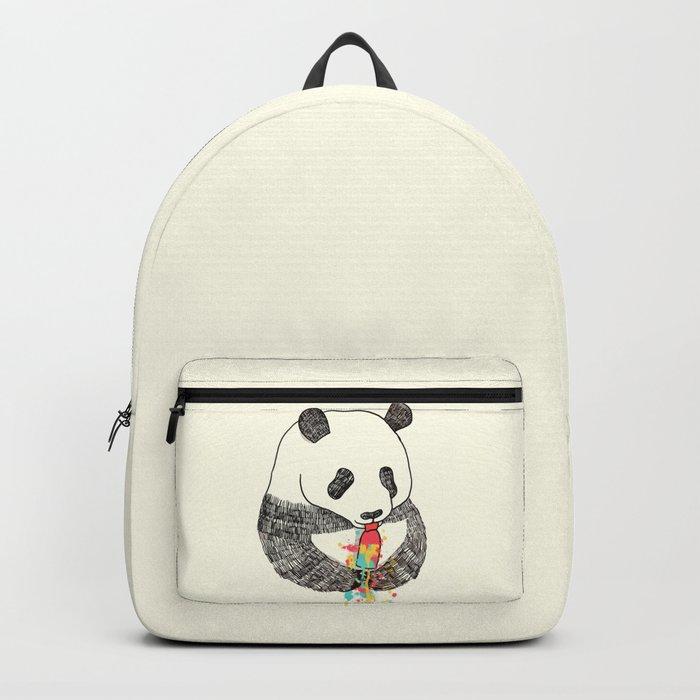 Panda Loves Ice Cream Backpack