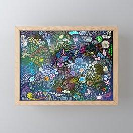 Space Opera Framed Mini Art Print