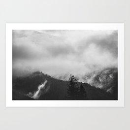 Undone - nature photography Art Print
