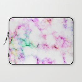 Saltwater Taffy Colored Marble Pattern Laptop Sleeve
