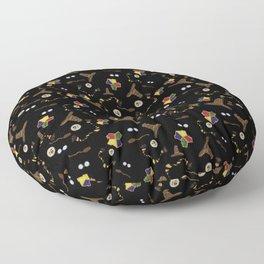 A Very Potter Pattern Floor Pillow