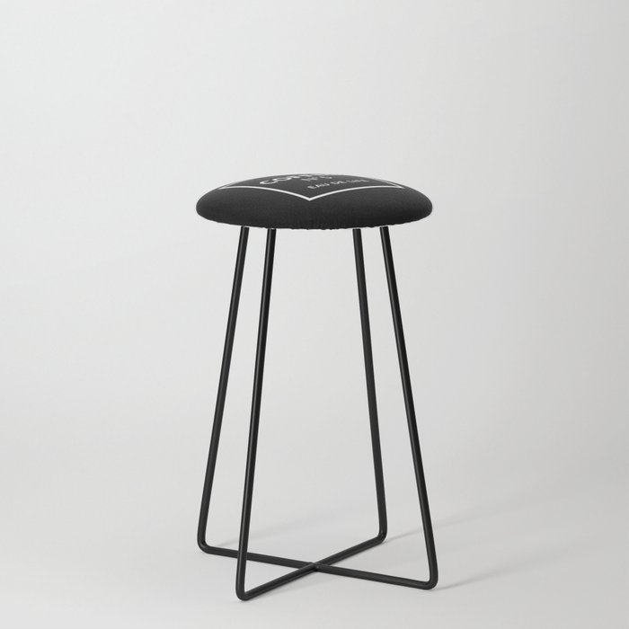 Black Coffee No5 Counter Stool