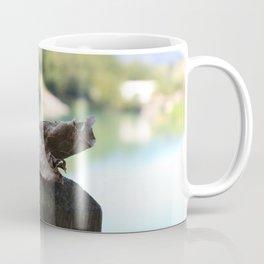 The solitary leaf Coffee Mug