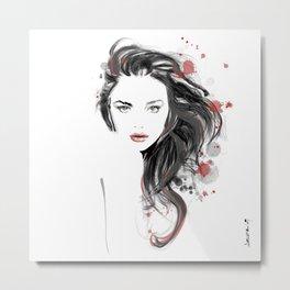The look of seduction Metal Print
