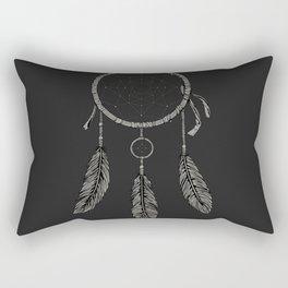 Dream catcher Black Rectangular Pillow