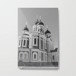 Alexander Nevsky Cathedral, Tallinn Metal Print
