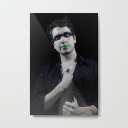 Verde Metal Print