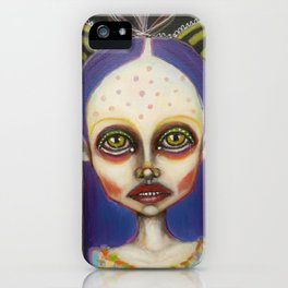 toxic butterfly iPhone Case