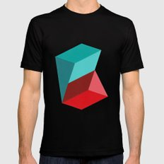 Prisms Black SMALL Mens Fitted Tee