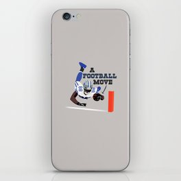 A Football Move - Dez Bryant iPhone Skin