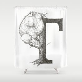 Timtree Shower Curtain