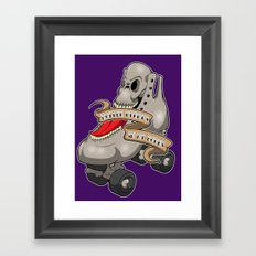 Roller Derby's in my Bones Framed Art Print
