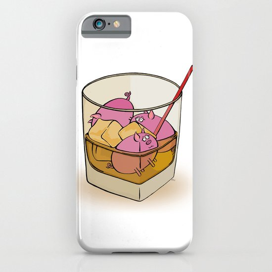 Pickle Pigs Too iPhone & iPod Case