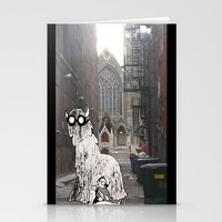 pittsburgh Stationery Cards featuring Pittsburgh Lurkers by Christine Eglantine