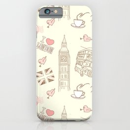 Magic London iPhone Case